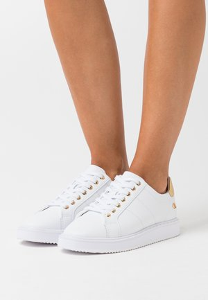 ANGELINE  - Sneakers basse - white/gold