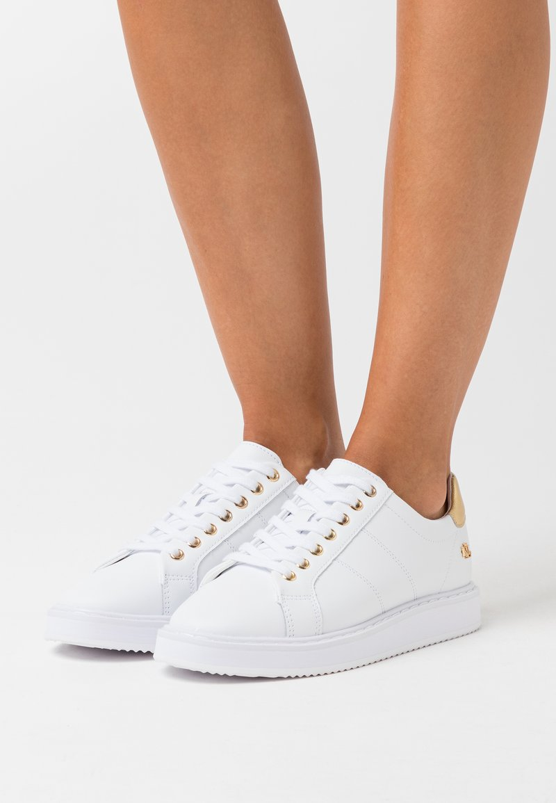 Lauren Ralph Lauren - ANGELINE  - Zapatillas - white/gold