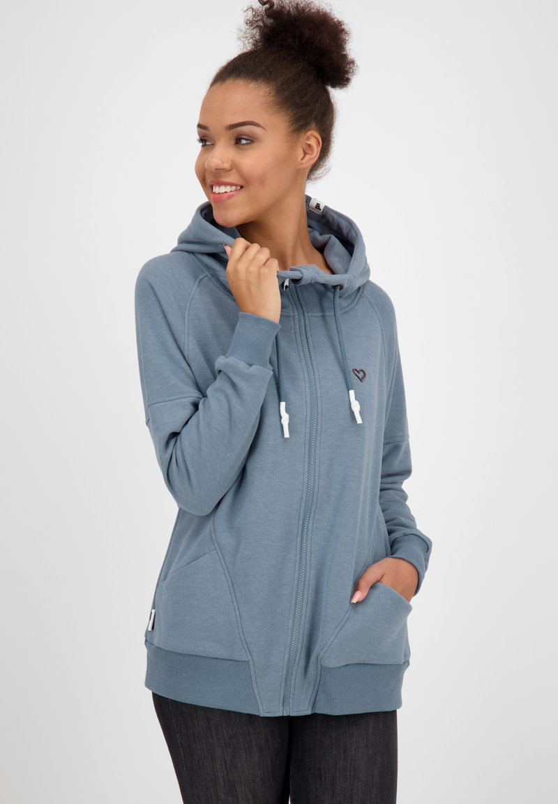 alife & kickin - MARIAAK  - Zip-up hoodie - blue