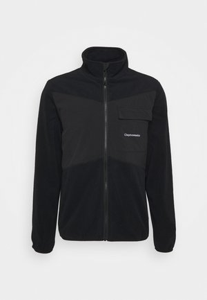 FISHER - Fleece jacket - black
