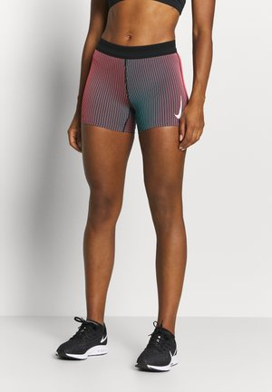 AEROSWIFT SHORT - Tights - bright crimson/black