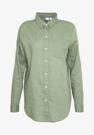 Button-down blouse - twig