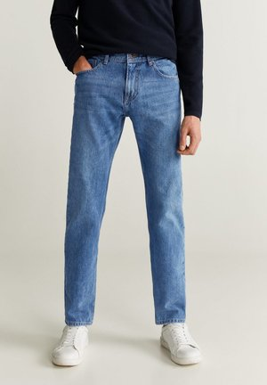 BOB - Jeans a sigaretta - mittelblau