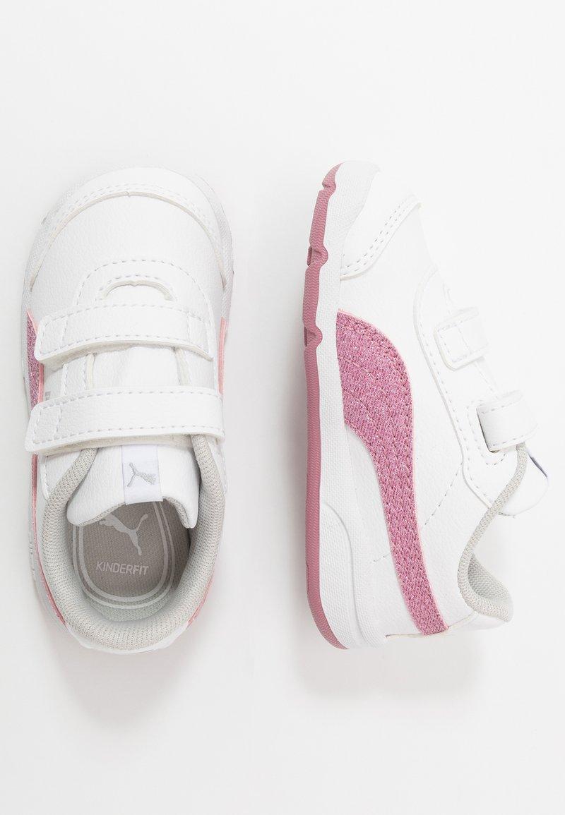 Puma - STEPFLEEX 2 UNISEX - Sportschoenen - white/pink