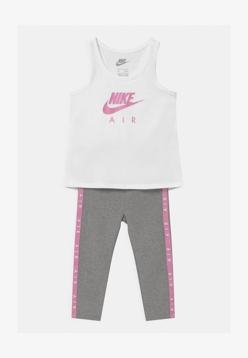 Nike Sportswear - AIR SET - Top - carbon heather