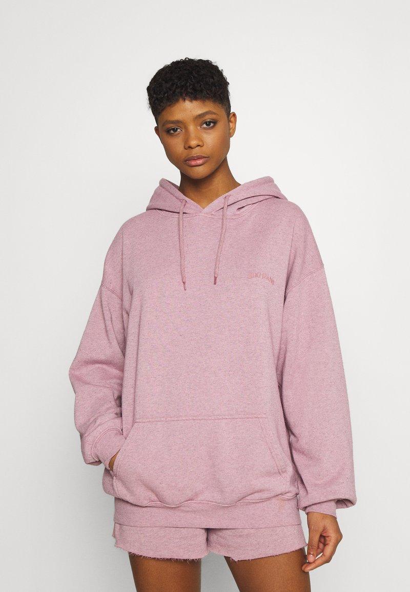 BDG Urban Outfitters - SKATE HOODIE - Sweatshirt - pink