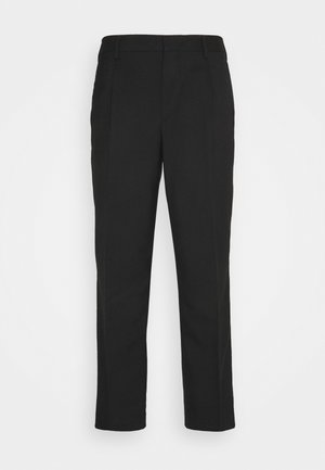 Trousers - black dark