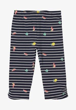 Leggings - Trousers - dark blue stripes