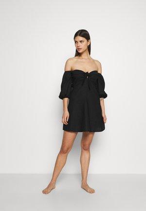 TERRACE TIE DRESS - Akcesoria plażowe - black