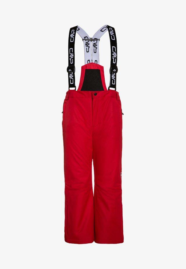 SALOPETTE UNISEX - Pantaloni da neve - red