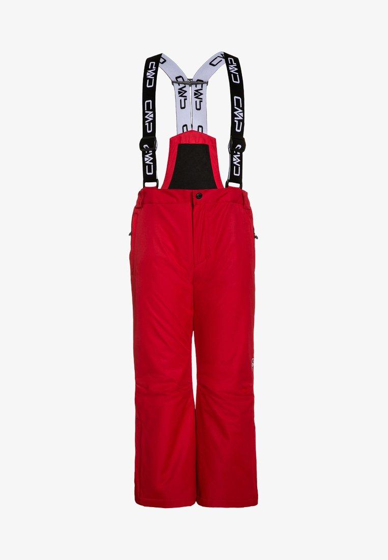 CMP - SALOPETTE UNISEX - Zimní kalhoty - red