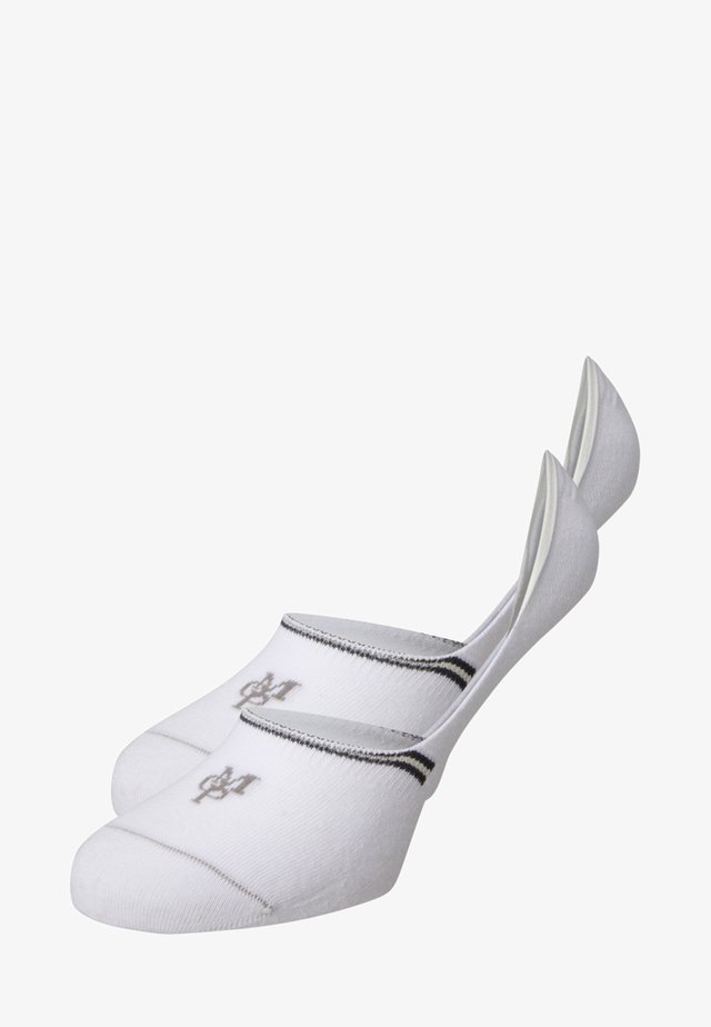 2 PACK - Trainer socks - weiss