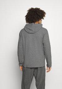 Nike Performance - YOGA - Hoodie - dark grey/heather/black - 2