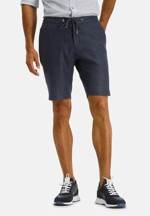 Shorts - dark-blue plain