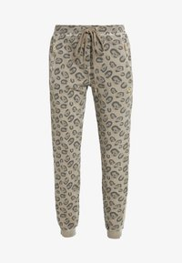 True Religion - PANTS LEO ALLOVER PRINT - Tracksuit bottoms - beige - 4