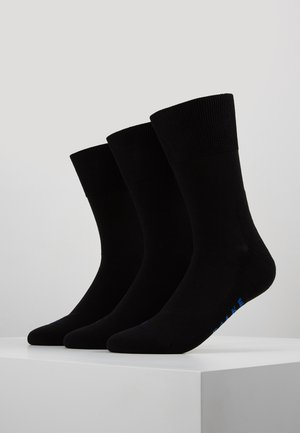 FALKE Run Mehrfachpack Socken 3 PACK - Strumpor - black