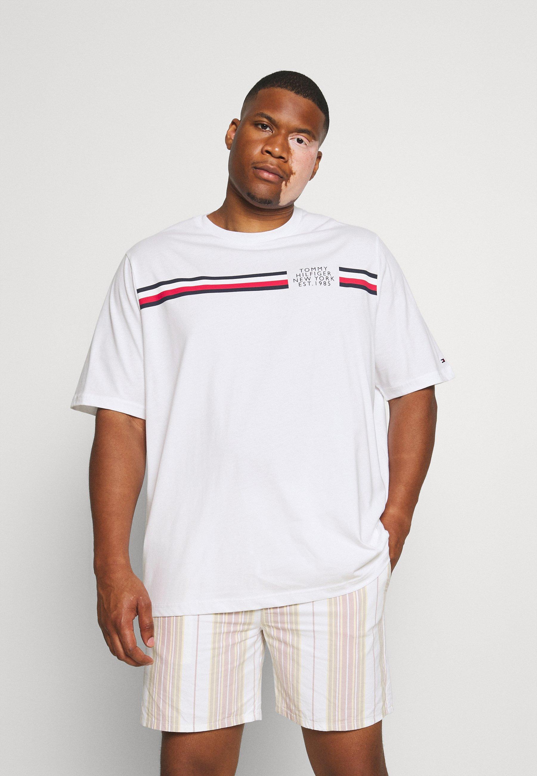 Homme SPLIT TEE - T-shirt imprimé