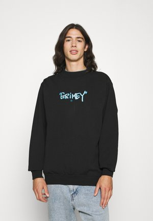 GEM CUTTING CREWNECK UNISEX - Sweatshirt - black