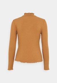 Vero Moda Petite - VMGLADYS HIGHNECK - Langærmede T-shirts - tobacco brown - 1