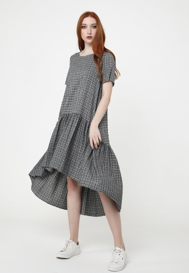 Robe d'été - grau, schwarz