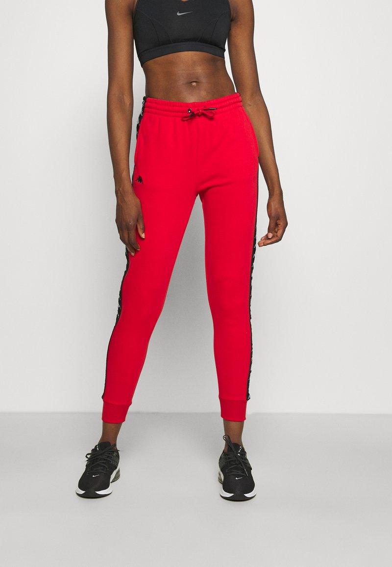 Kappa - JANTE - Tracksuit bottoms - racing red