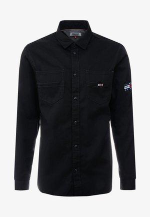 POCKET - Shirt - black