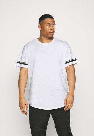 ONSMATT LIFE LONGY STRIPE   - Print T-shirt - white