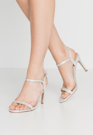 BLINK PART  - High heeled sandals - silver