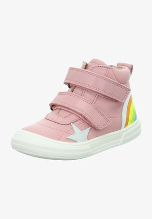 High-top trainers - rose pink