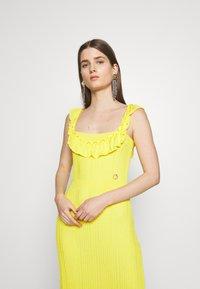 Just Cavalli - Společenské šaty - yellow - 3