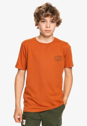 WILD CARD - Print T-shirt - cinnamon