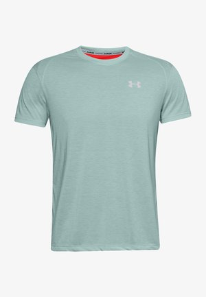 STREAKER SHORTSLEEVE - Print T-shirt - enamel blue