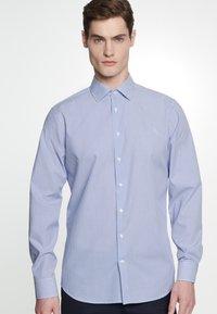 Seidensticker - SLIM FIT - Shirt - blue - 0