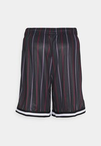 Karl Kani - SMALL SIGNATURE PINSTRIPE  - Shorts - black - 6