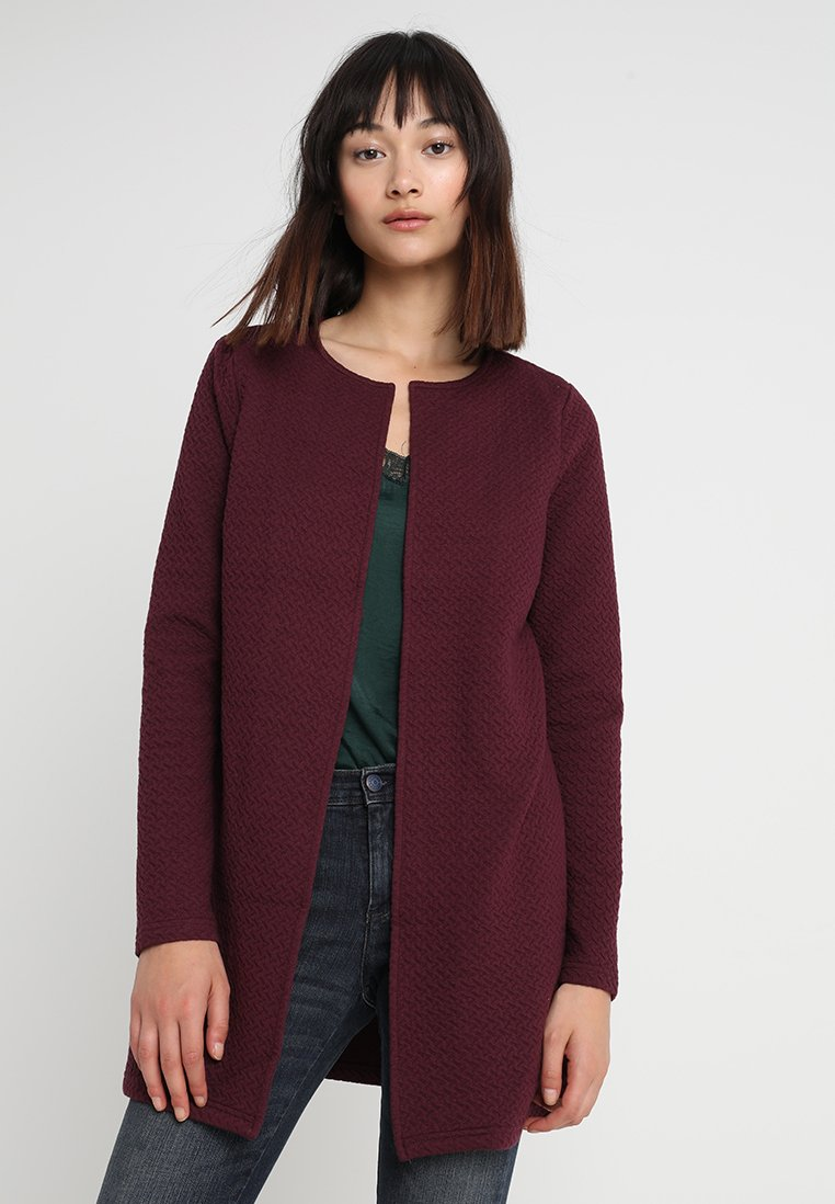 Vila - VINAJA NEW LONG JACKET - Summer jacket - winetasting