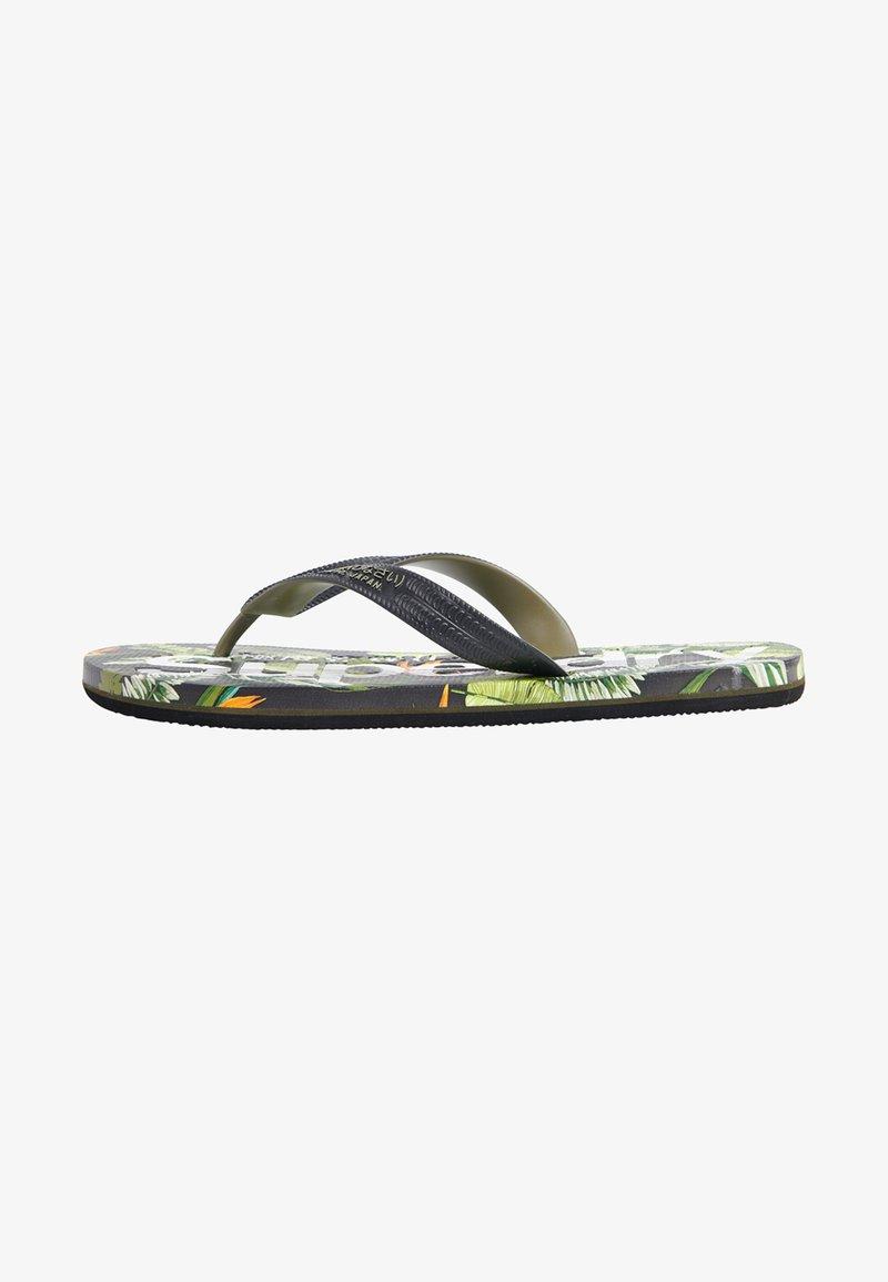 Superdry - SCUBA ALL OVER PRINT - Pool shoes - tara tropical