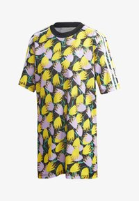 adidas Originals - BELLISTA TEE DRESS - Vestido informal - yellow - 8