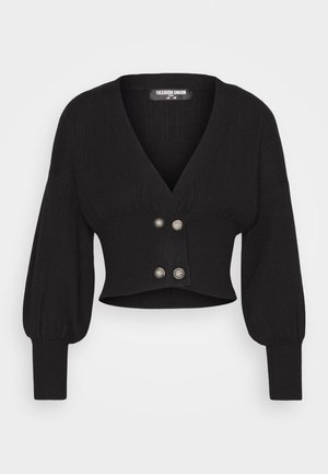 MEEKER - Cardigan - black