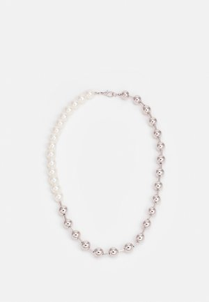 MIXED BALL CHAIN NECKLACE UNISEX - Kaulakoru - cream