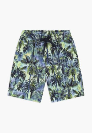 PRINTED ORGANIC PEERINO - Tracksuit bottoms - blue