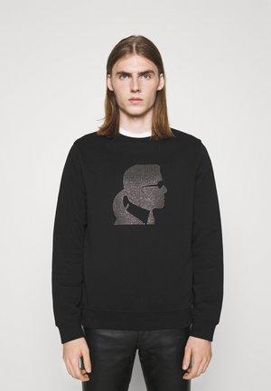 CREWNECK - Sweatshirt - black/gold