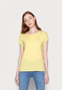Vero Moda Tall - VMAVA PLAIN 2 PACK - Basic T-shirt - desert sage/cornsilk - 1