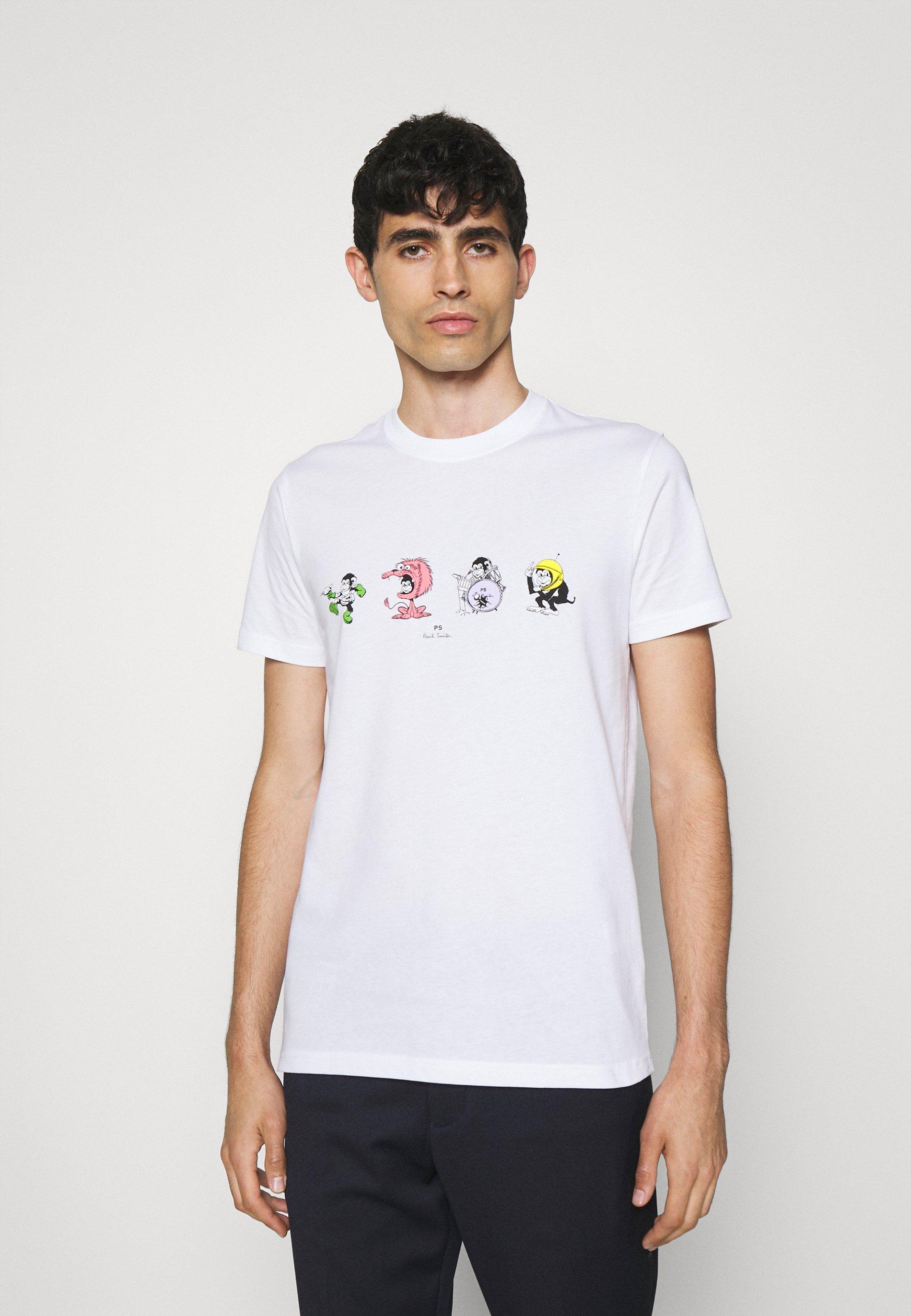 Homme SLIM FIT 4 MONKIES - T-shirt imprimé