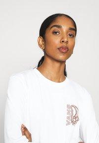 Vans - PEACE DRIP - Langærmede T-shirts - white - 4