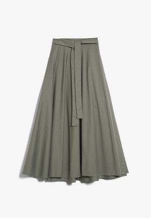 M-ROYA - A-line skirt - grün