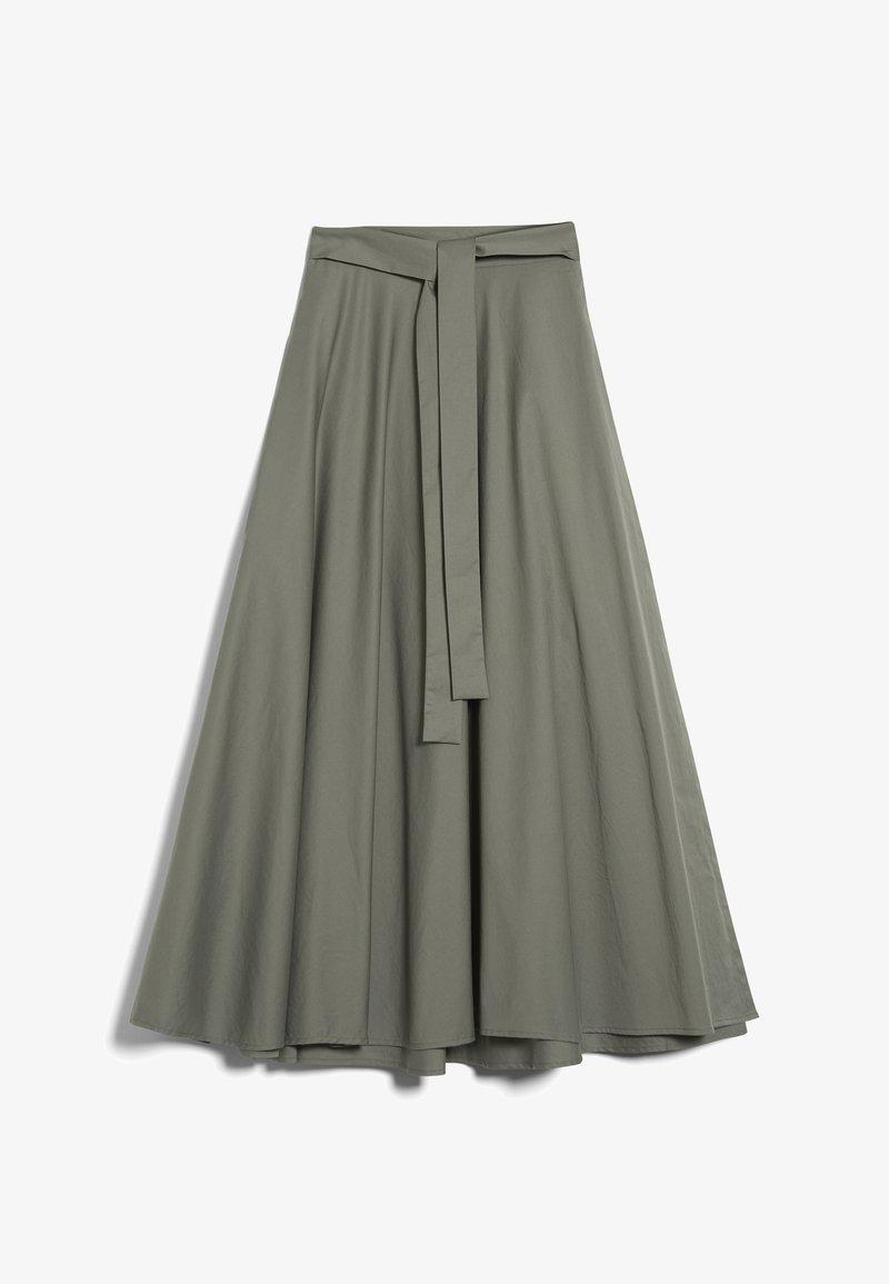 van Laack - M-ROYA - A-line skirt - grün