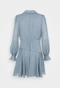 Forever New - DOBBY DRESS - Cocktail dress / Party dress - blue - 1