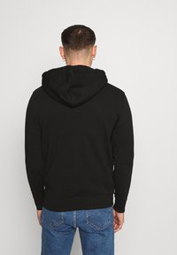 Alpha Industries - BASIC HOODY REFLECTIVE  - Luvtröja - black - 2