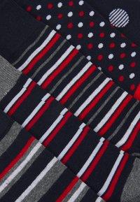 Jack & Jones - JACPORTER SOCKS 5 PACK - Ponožky - grey melange/nayy blazer - 1