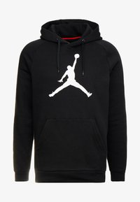Jordan - JUMPMAN LOGO - Hoodie - black/white - 3